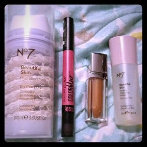 Set of 4 New , unused Beauty Products